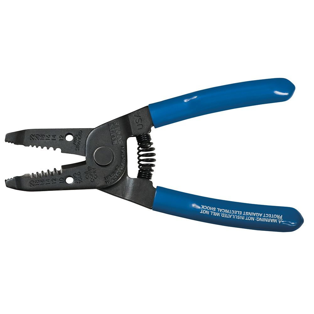 Wire Stripper/Cutter 10-20 Solid, 12-22 AWG Standed