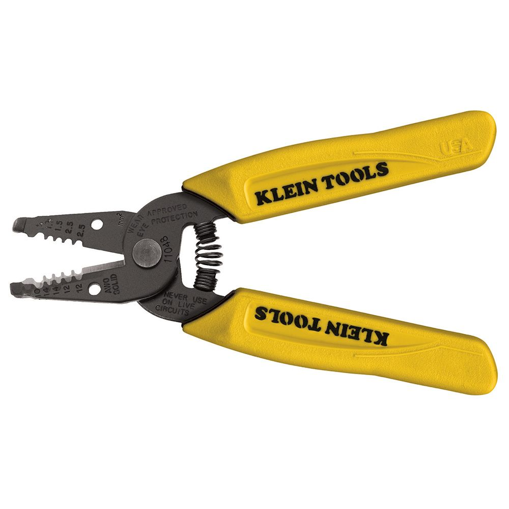 Dual-Wire Stripper/Cutter for Solid Wire - 11048 | Klein Tools - For ...