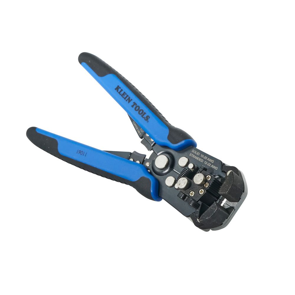 Self-Adjusting Wire Stripper/Cutter - 11061 | Klein Tools - For ...