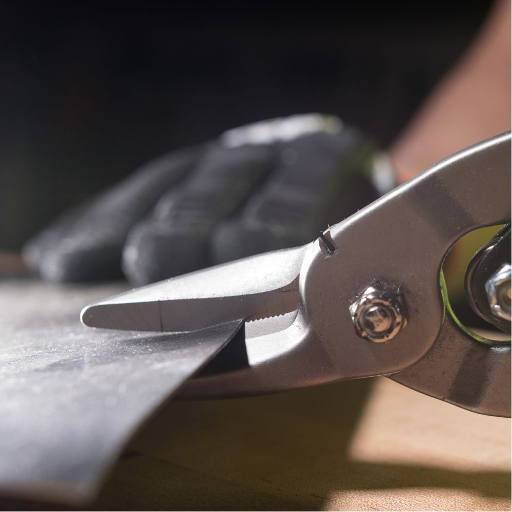 Aviation Snips With Wire Cutter Right 1201r Klein