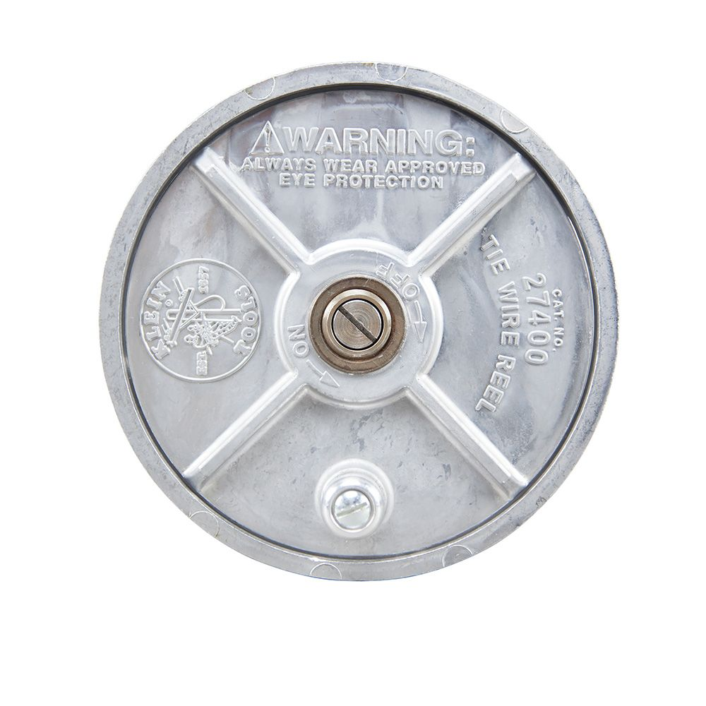 Tie Wire Reel, Lightweight Aluminum - 27400 | Klein Tools - For ...