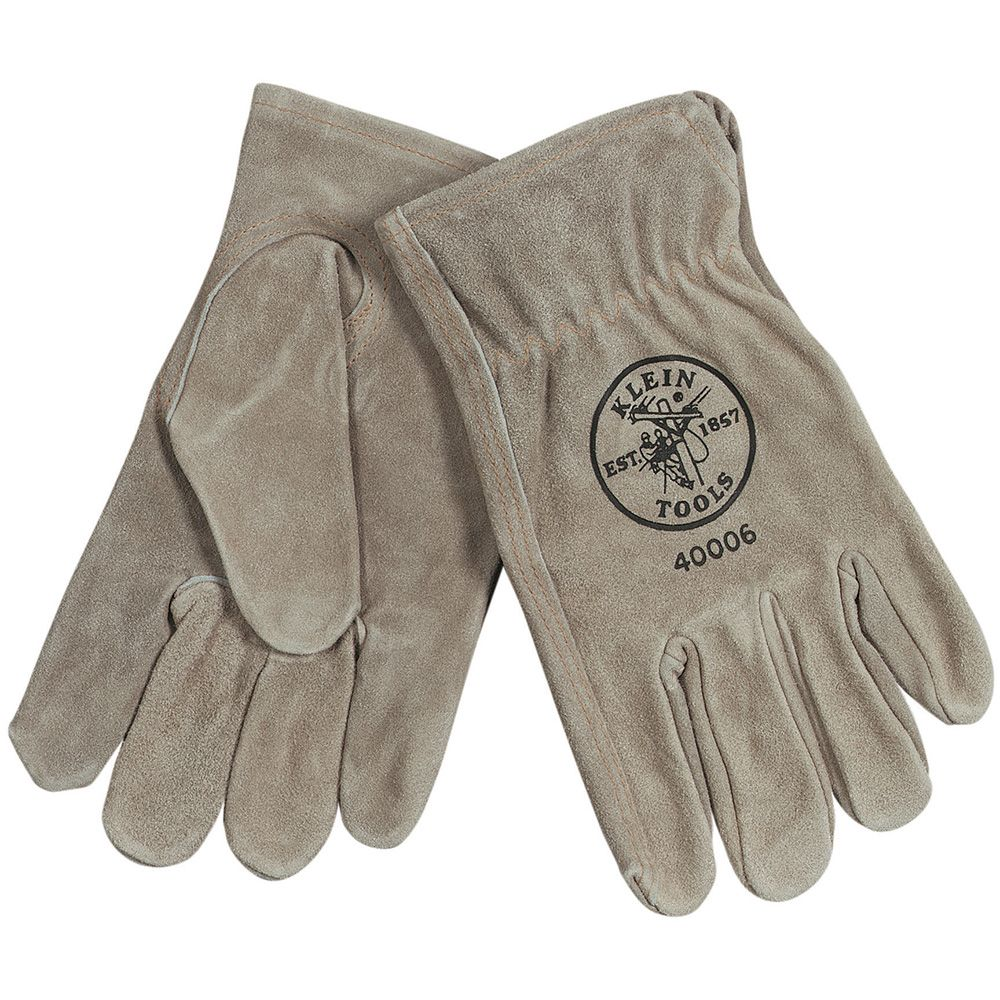 Cowhide Driver's Gloves, Medium