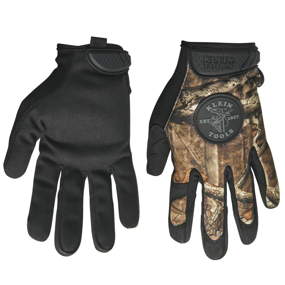 Journeyman Camouflage Gloves, Medium