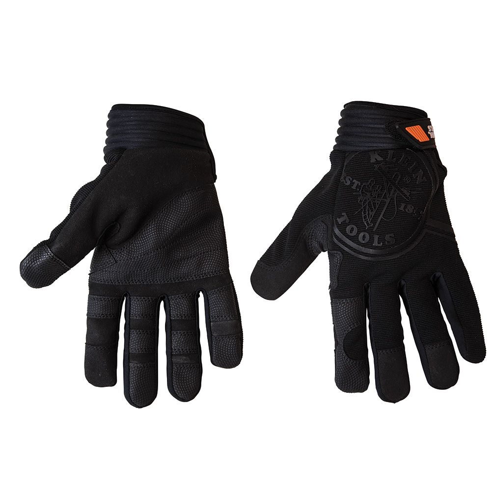 Journeyman Wire Pulling Gloves, L - 40233 | Klein Tools - For ...