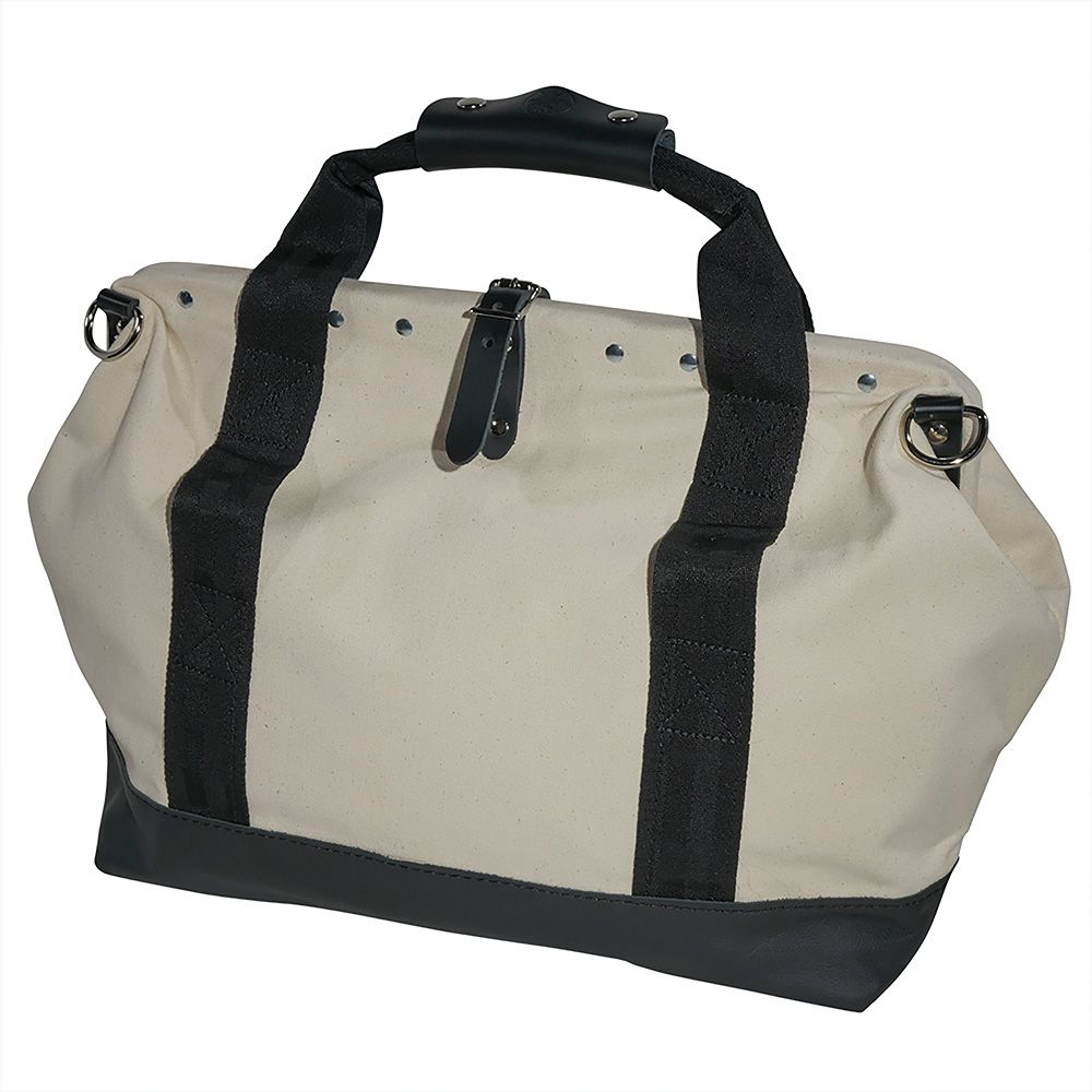 18 Canvas Tool Bag With Leather Bottom 5003 18 Klein