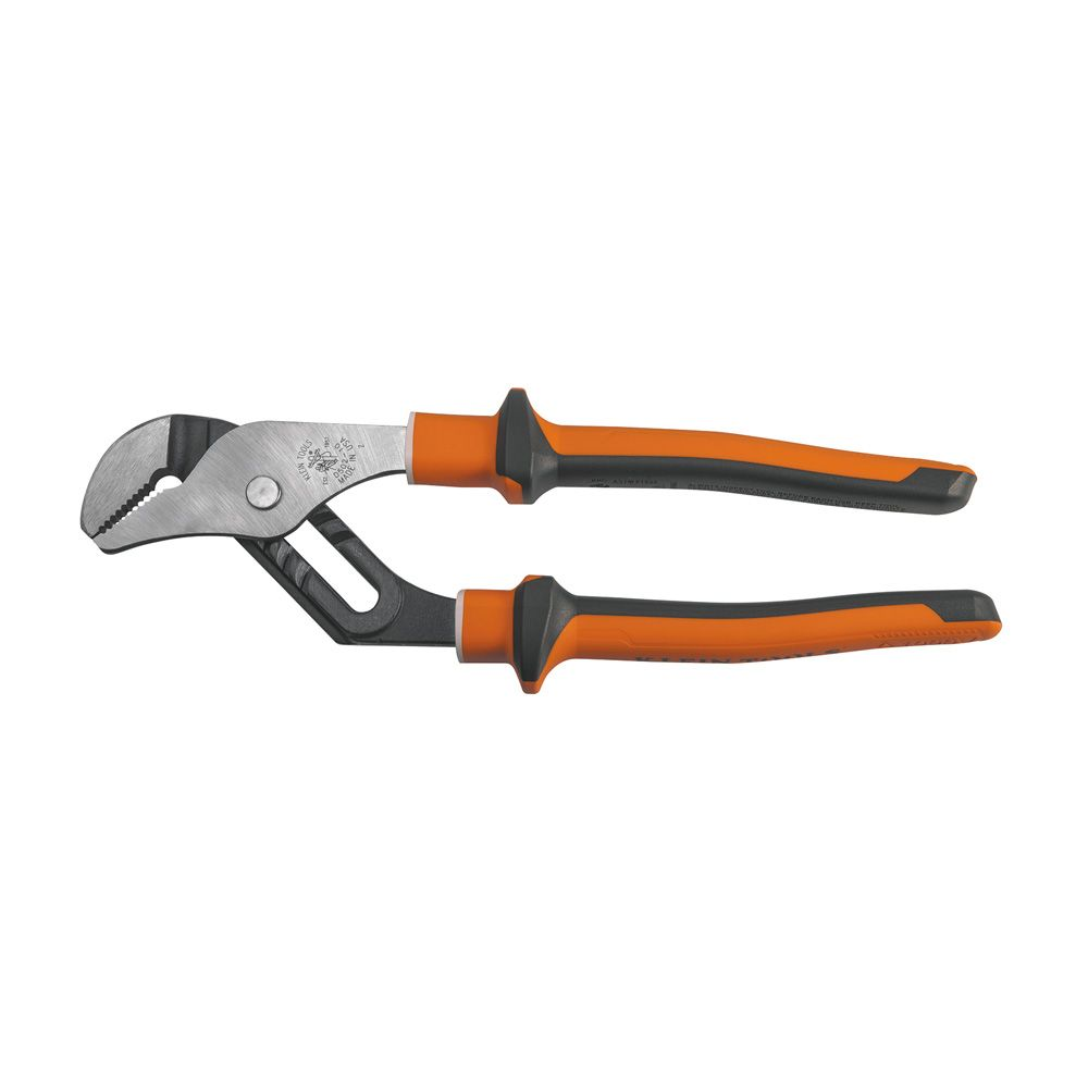 Insulated Pump Pliers, Slim Handle, 10-Inch