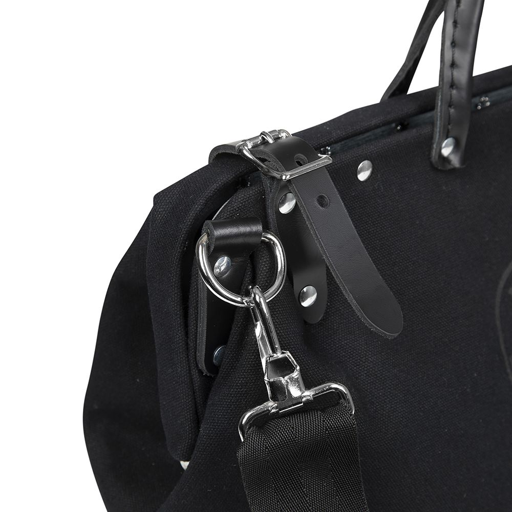 Deluxe Black Canvas Tool Bag 18 Inch 510218spblk