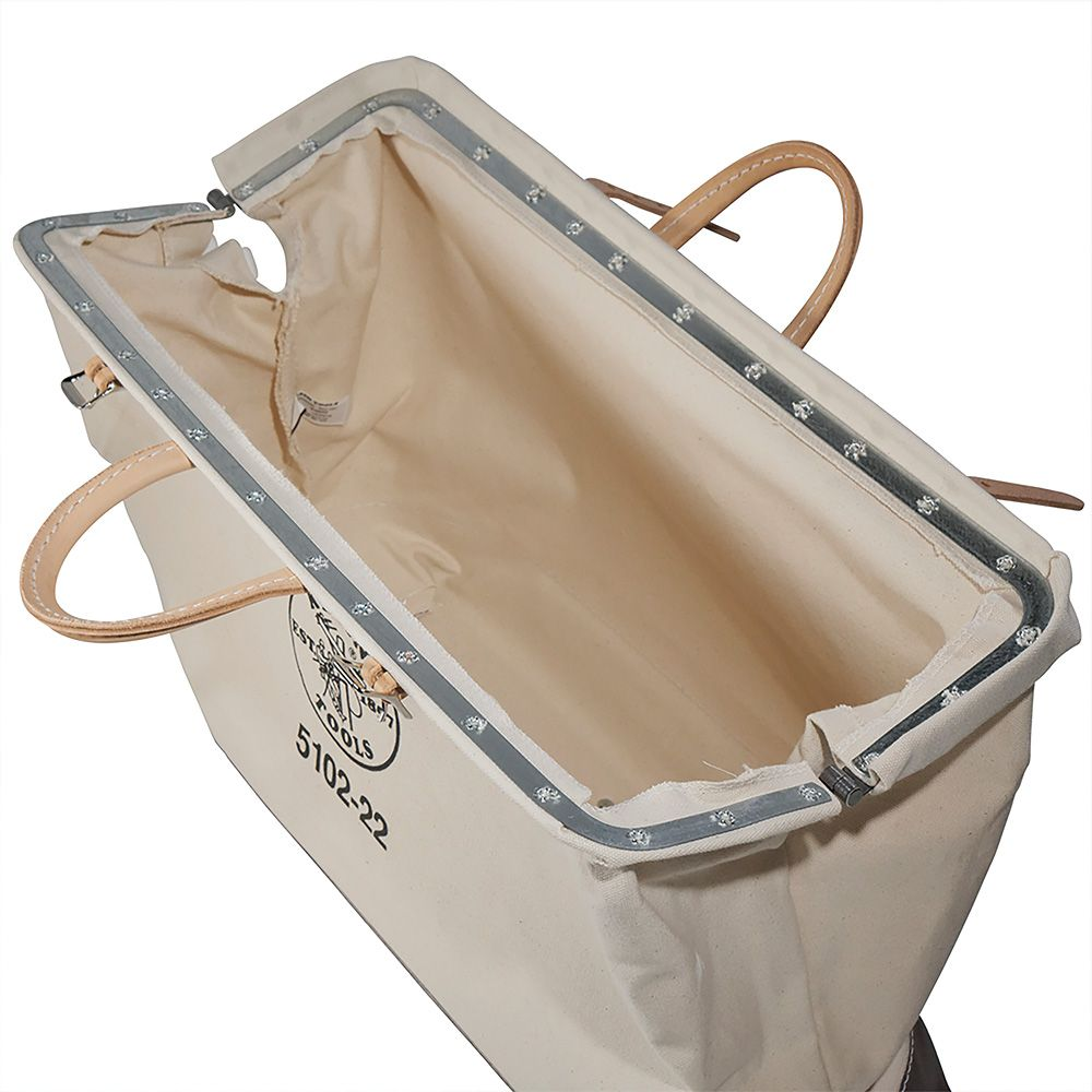 22 Canvas Tool Bag 5102 22 Klein Tools For