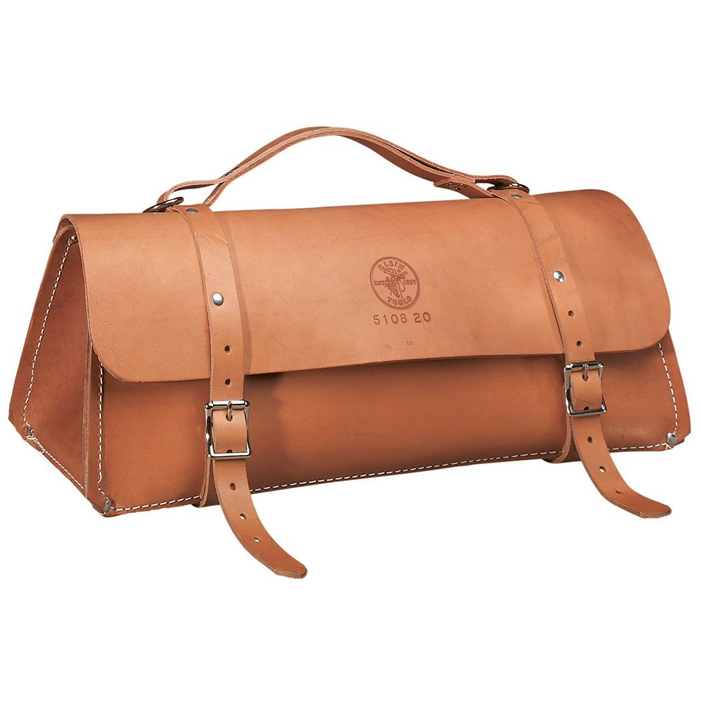 Deluxe Leather Bag 24 Inch