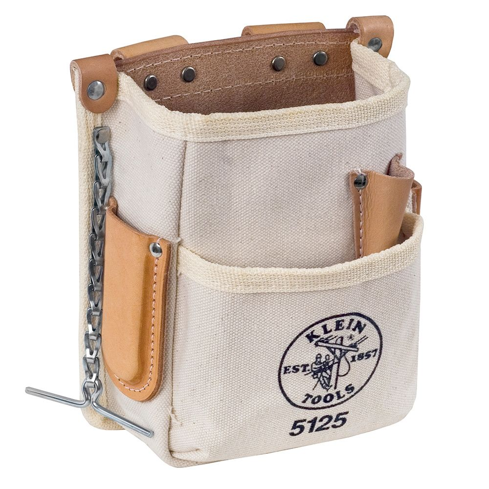 Tool Pouch 5 Pocket Canvas 5125 Klein Tools For