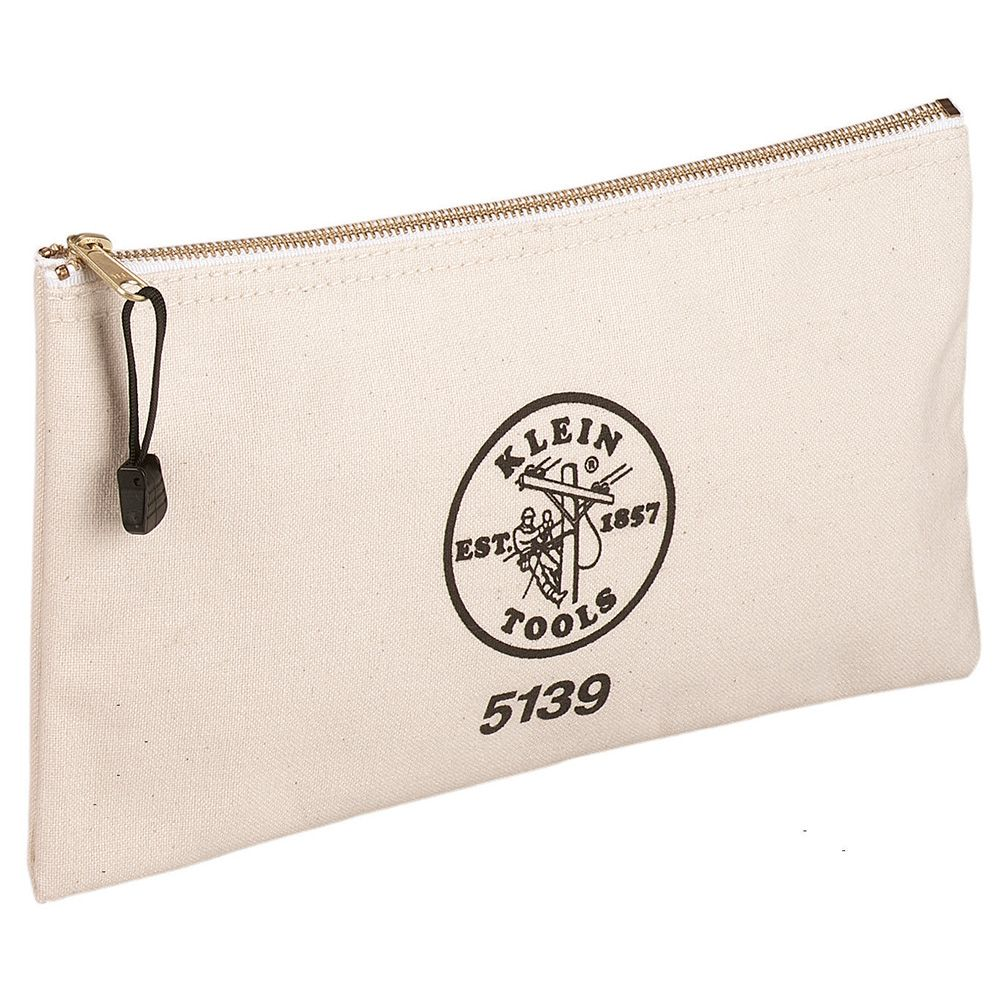 Canvas Zipper Bag - 5139 | Klein Tools - For Professionals since 1857