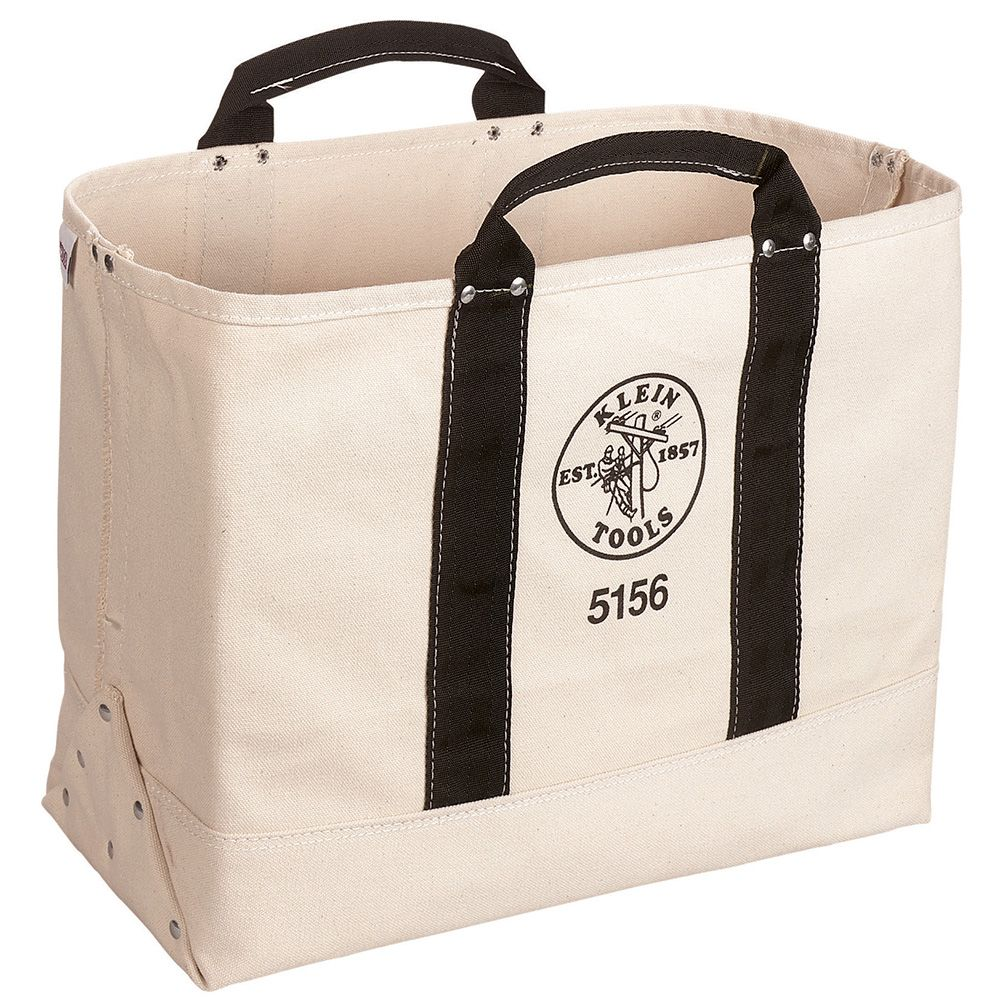 Canvas Tool Bag, 19-Inch - 5156 | Klein Tools - For