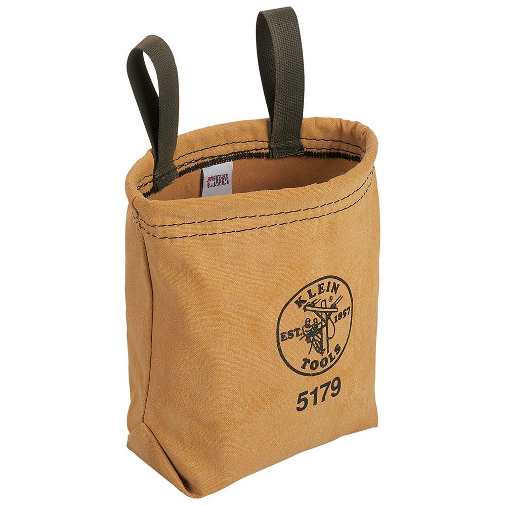 Water-Repellent Canvas Pouch Belt Loops