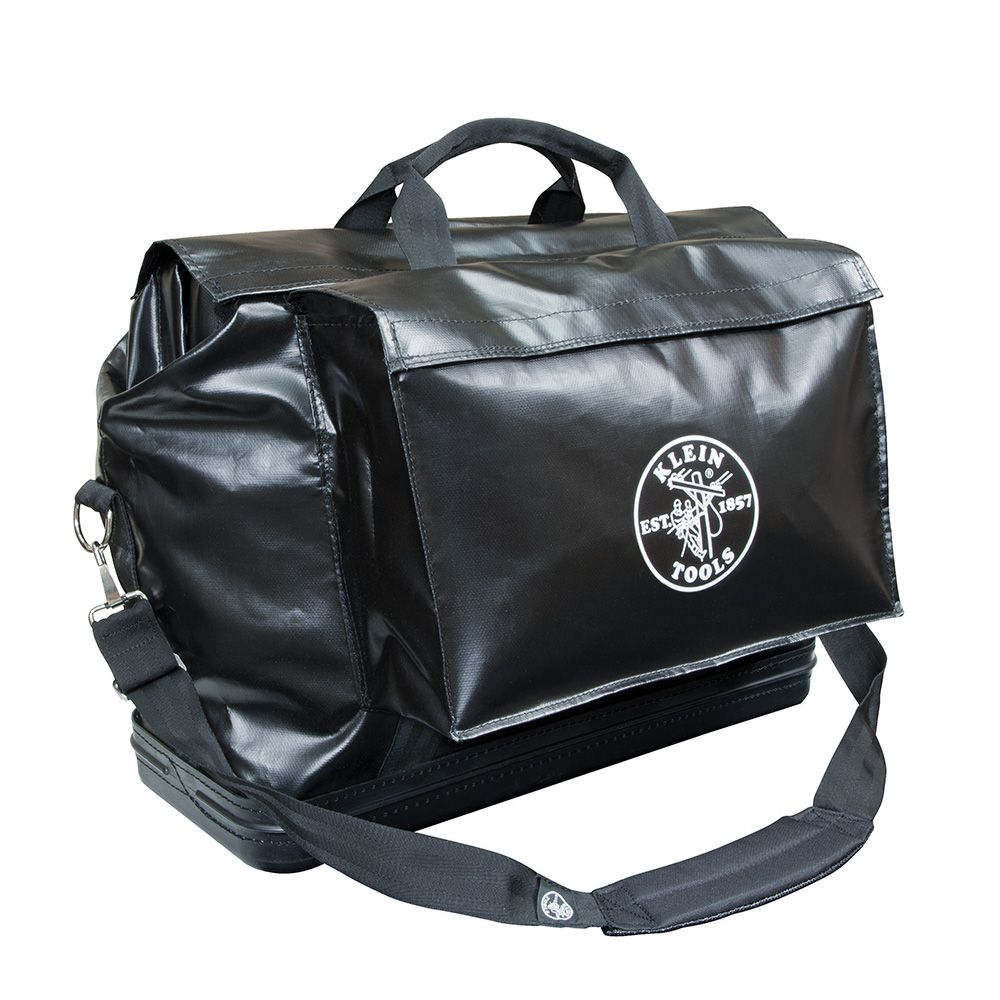 Large Equipment Bag, Black Vinyl