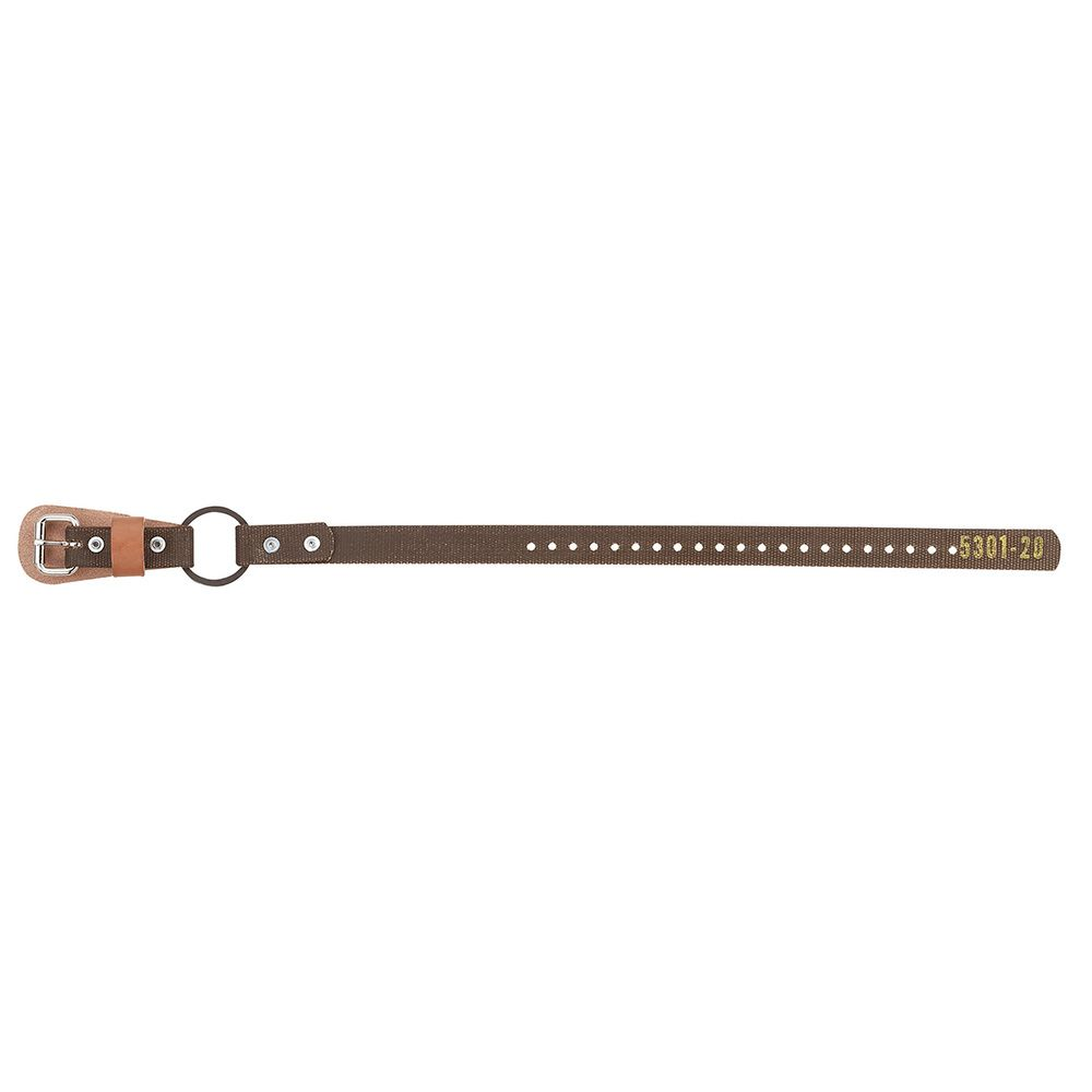"Klein 5301-20 Ankle Straps for Pole Climbers, 1"" Wide"