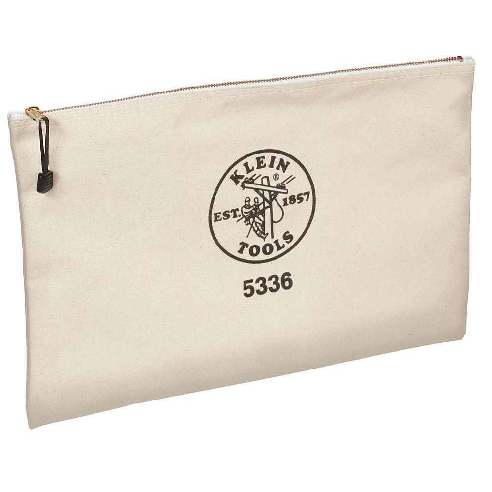Zipper Bag, Contractor's Portfolio, Canvas