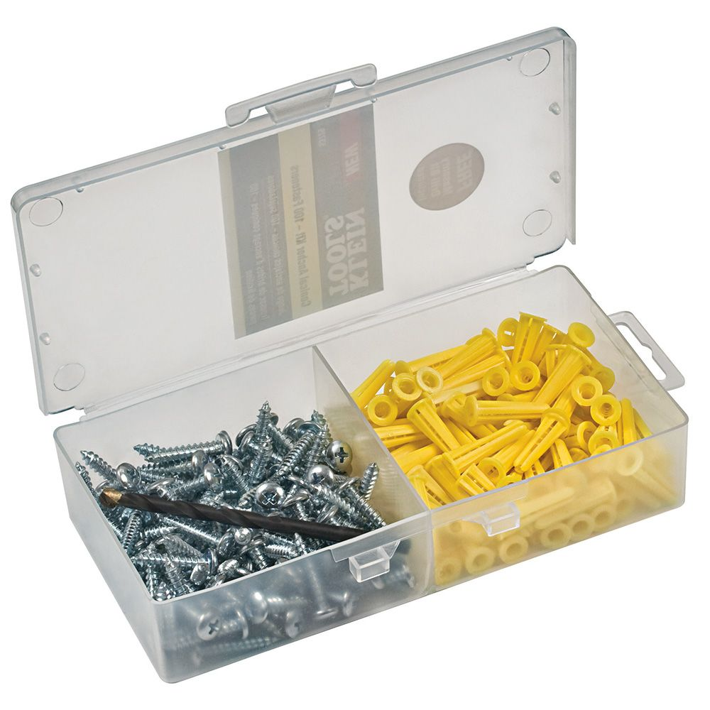 Conical Anchor Kit, 100 Anchors