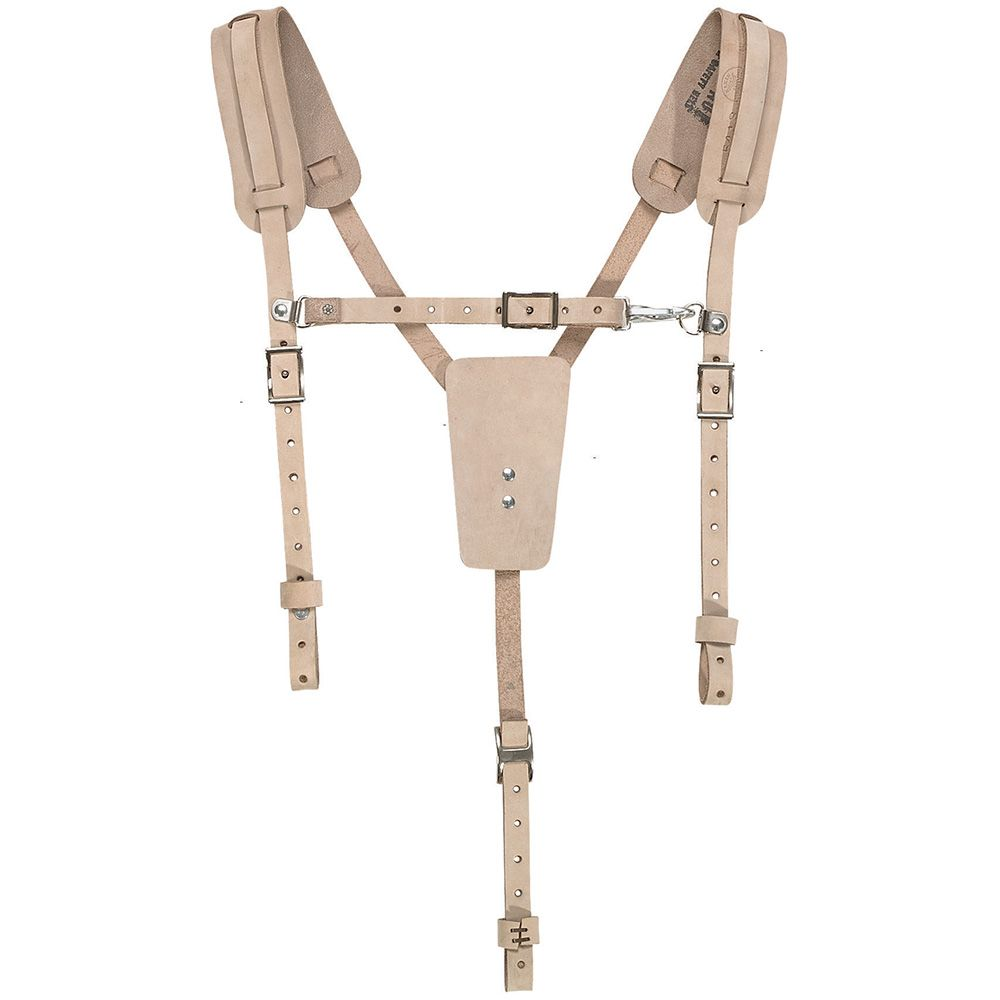 leather suspenders 5413 klein tools for