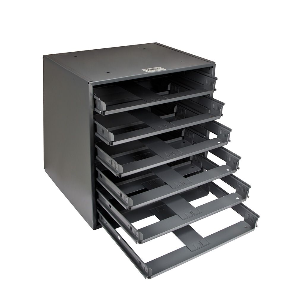 Klein Tools 6-Box Slide Rack