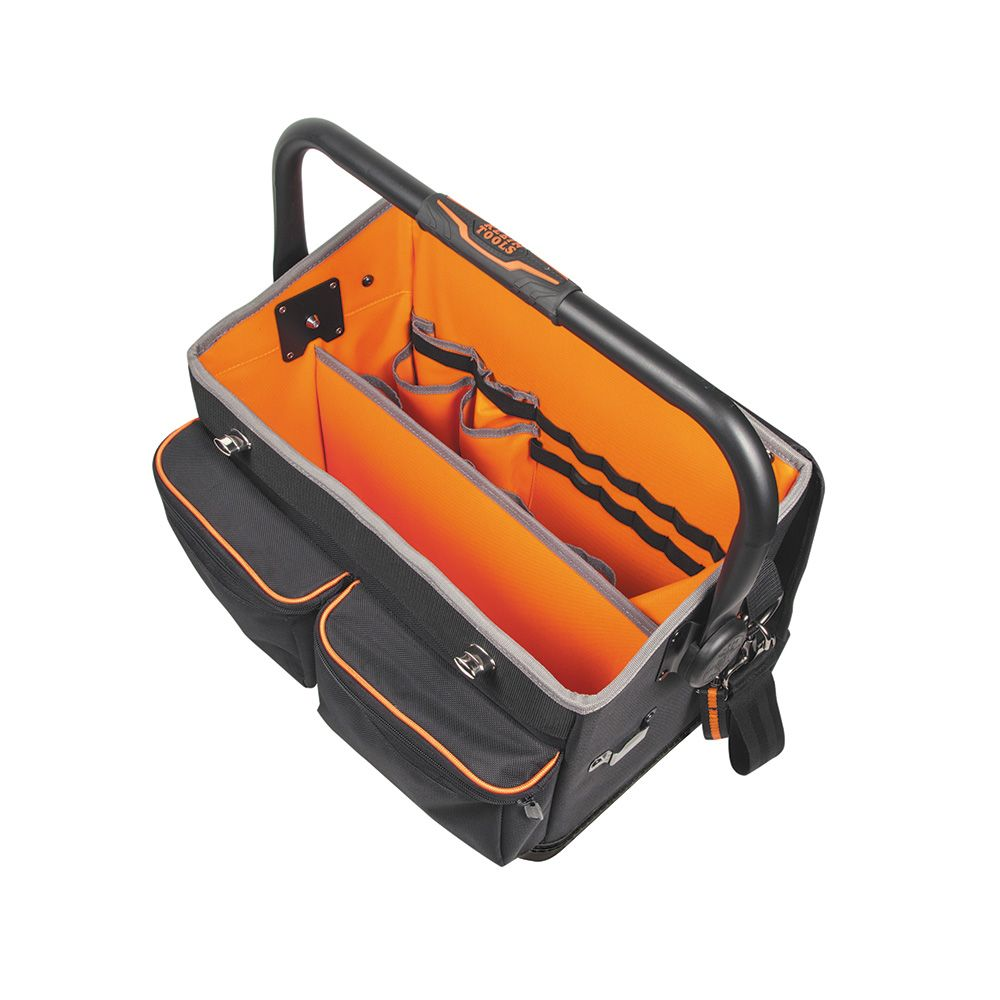 Tradesman Pro 17 Pocket Tool Tote With Cover 55432