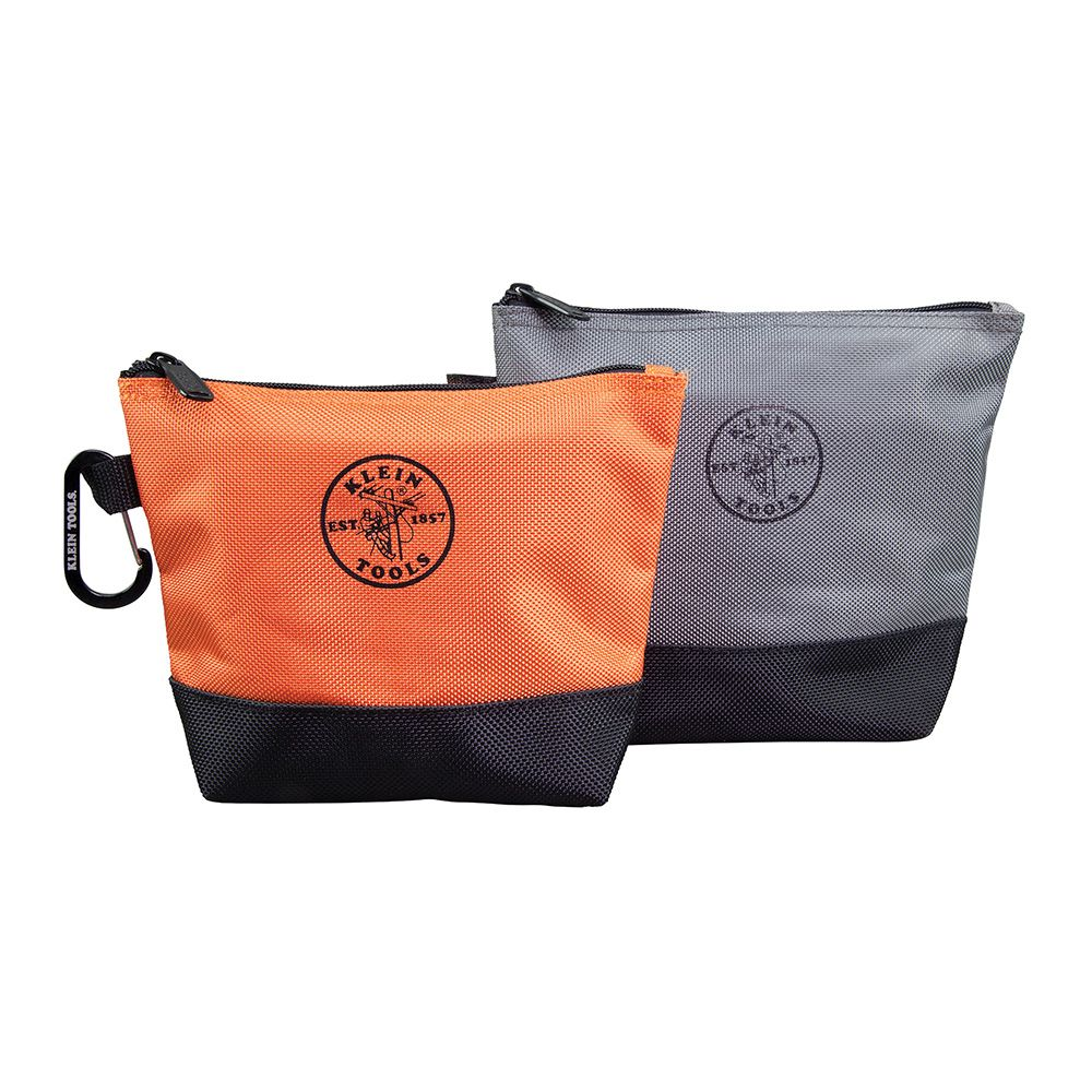 Stand-Up Zipper Bags, 2 Pk