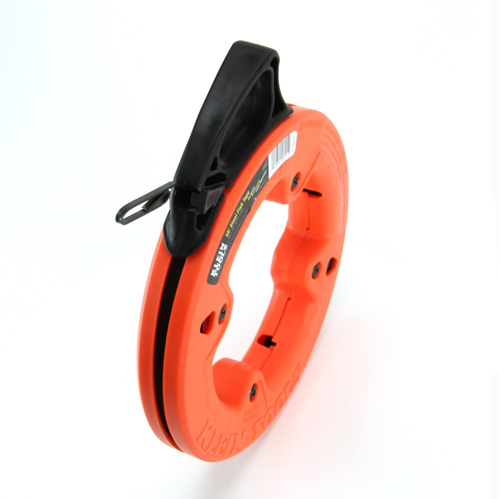 1 8 39 39 wide steel fish tape 50 ft 56001 klein tools for Klein fish tape