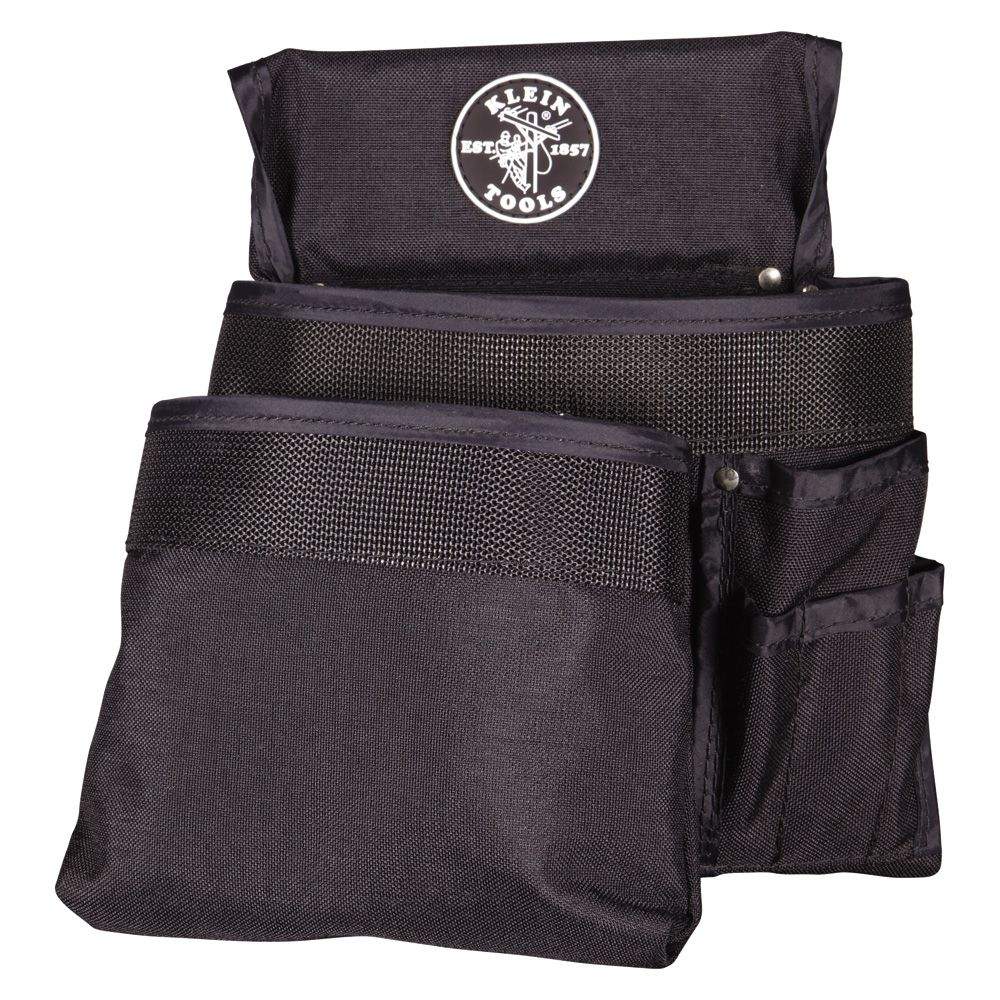 Tool Pouch, PowerLine™ Series 8-Pocket Tool Pouch, Black Nylon