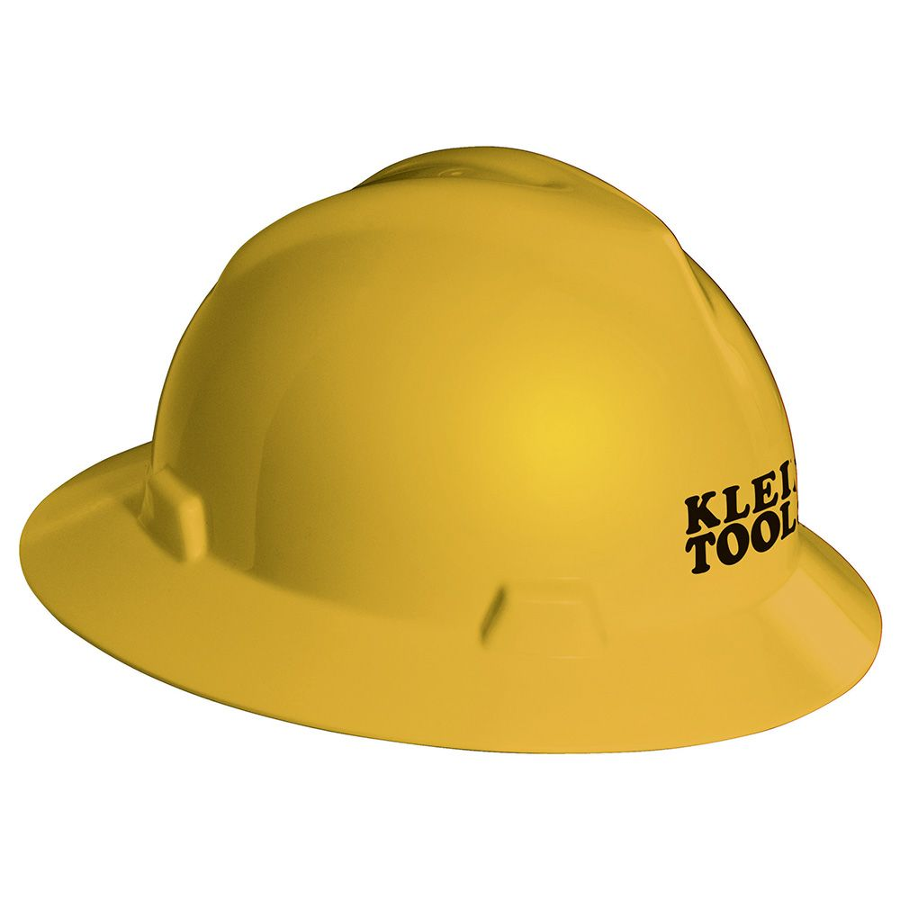 V-Gard® Hard Hat, Yellow, with Klein Tools Logo