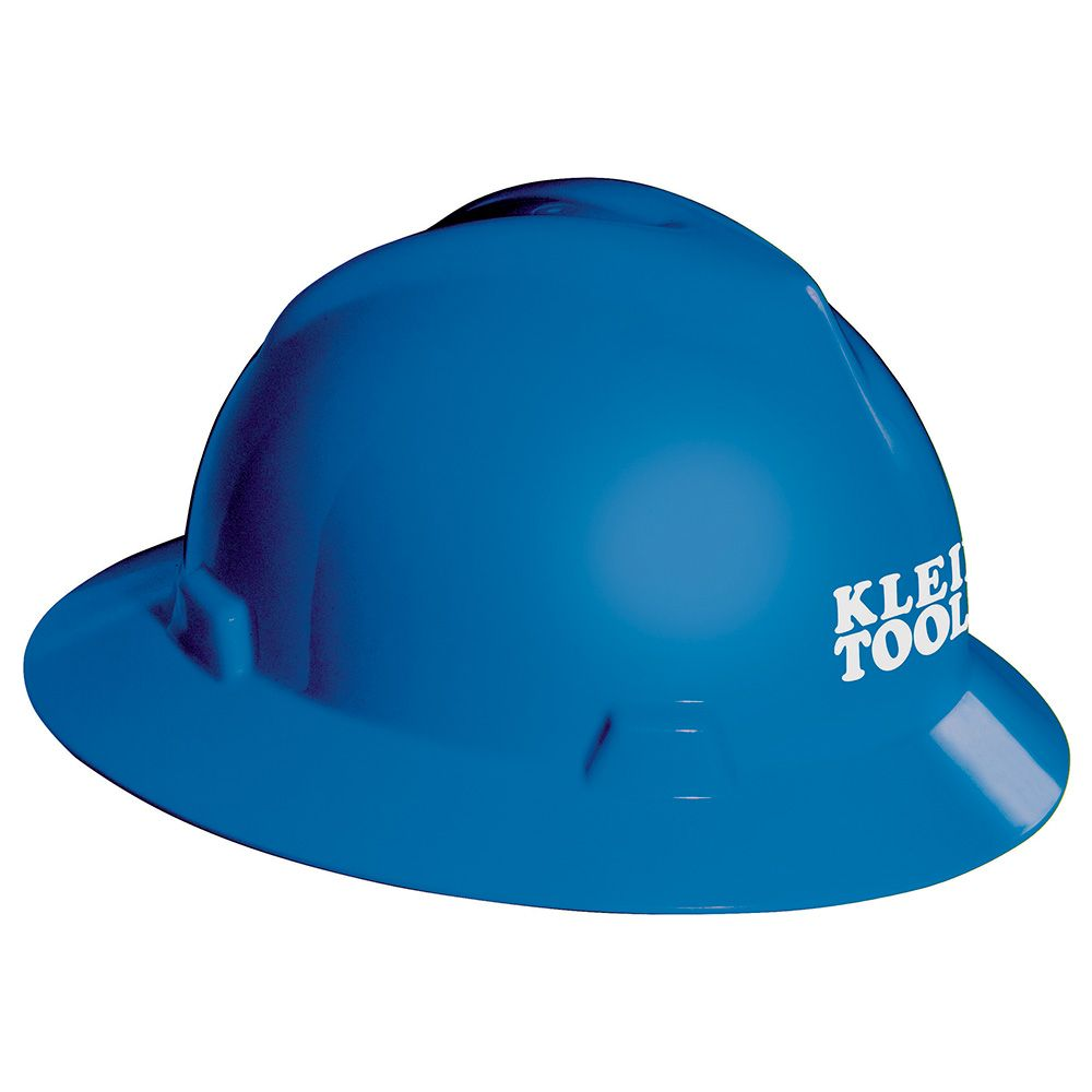 V-Gard® Hard Hat, Blue, with Klein Tools Logo