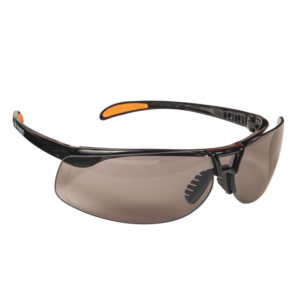 Protective Frameless Eyewear Brown Tinted Lens
