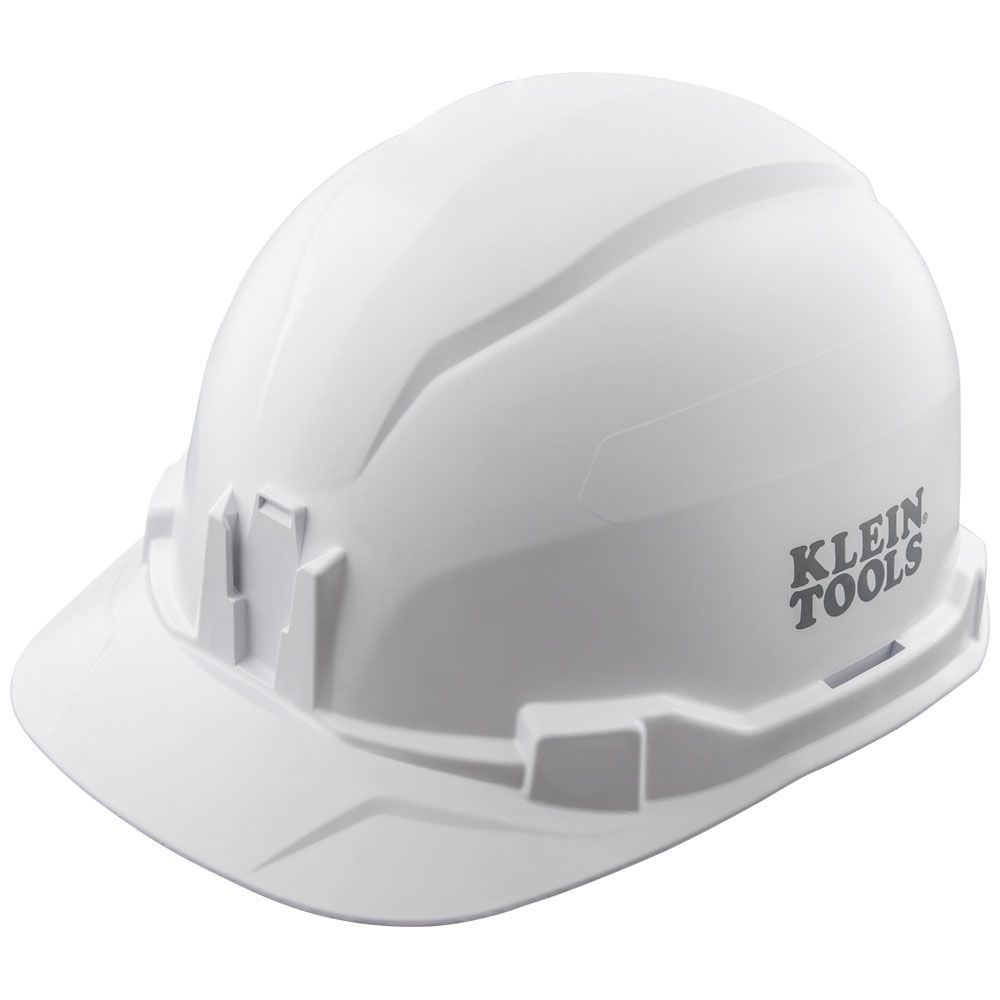 Hard Hat, Non-Vented, Cap Style, White