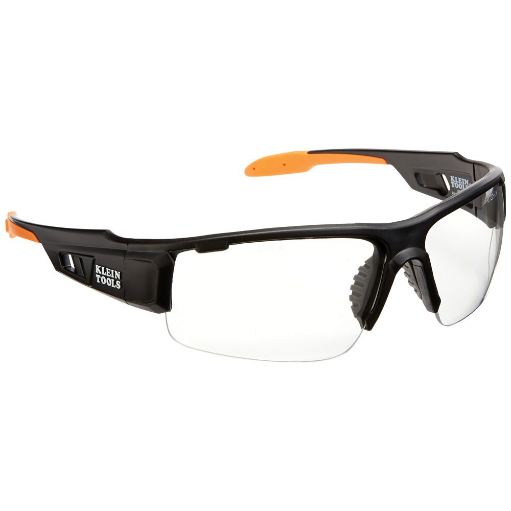 Professional Safety Glasses, Clear Lens