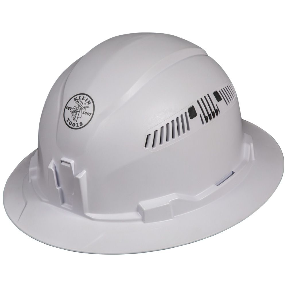 Hard Hat, Vented, Full Brim Style
