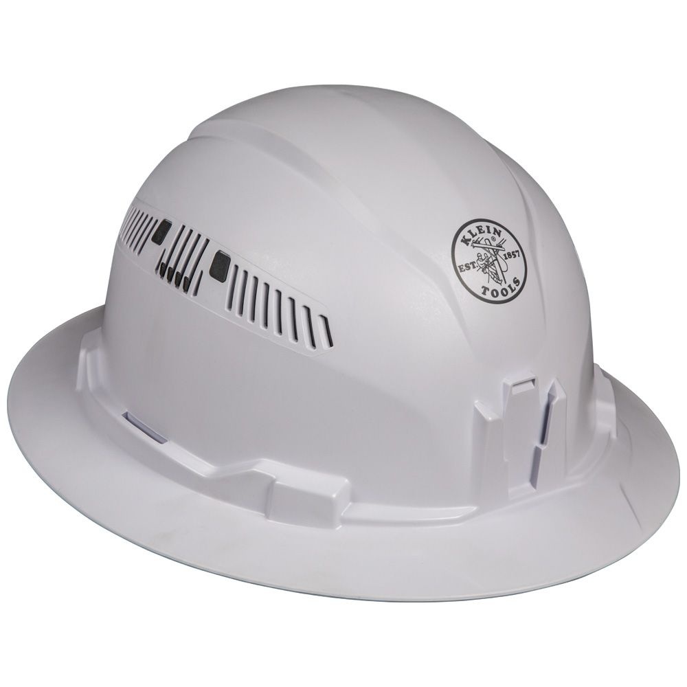 Hard Hat, Vented, Full Brim Style - 60401   Klein Tools - For
