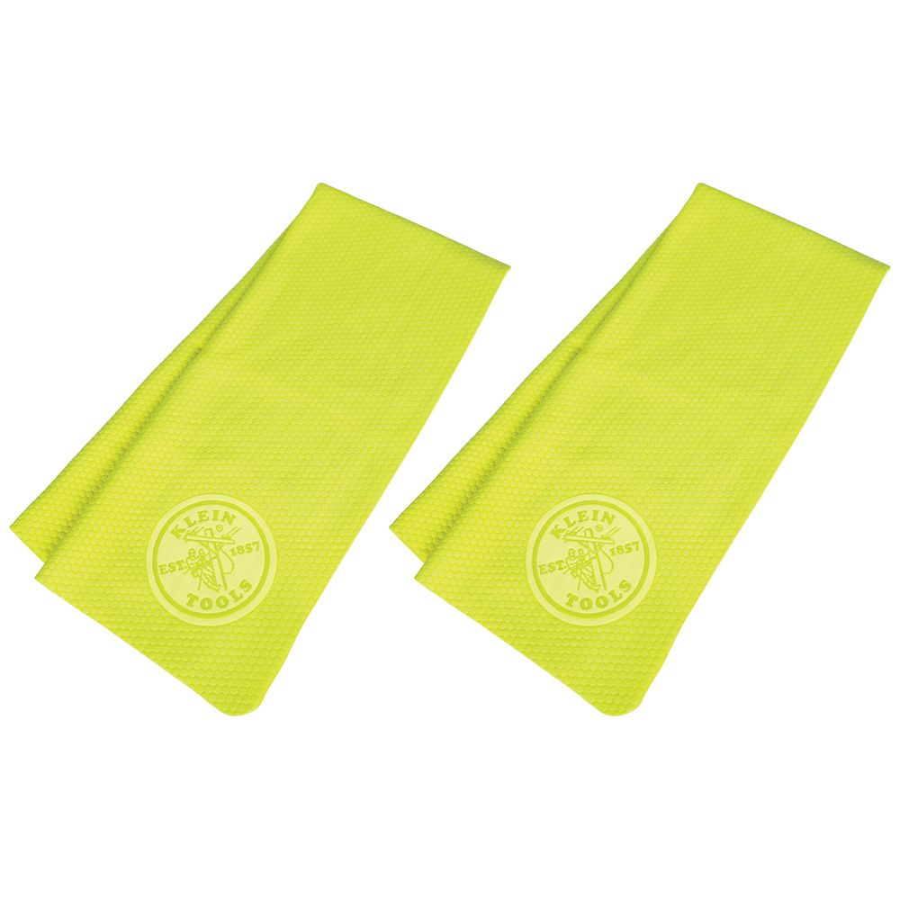 Cooling PVA Towel, High-Visibility Yellow, 2-Pack