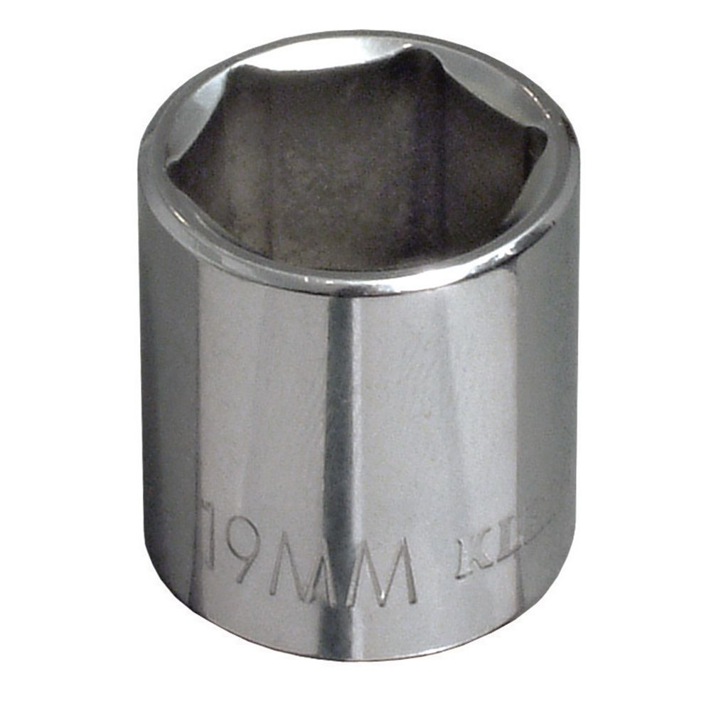 18 mm Metric 6-Point Socket, 3/8-Inch Drive