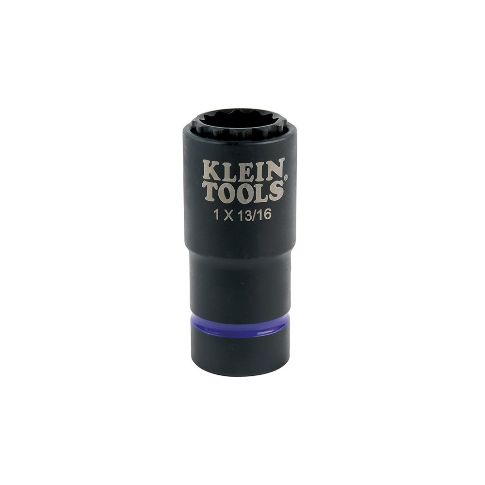 2-in-1 Impact Socket, 12-Point, 1 and 13/16-Inch