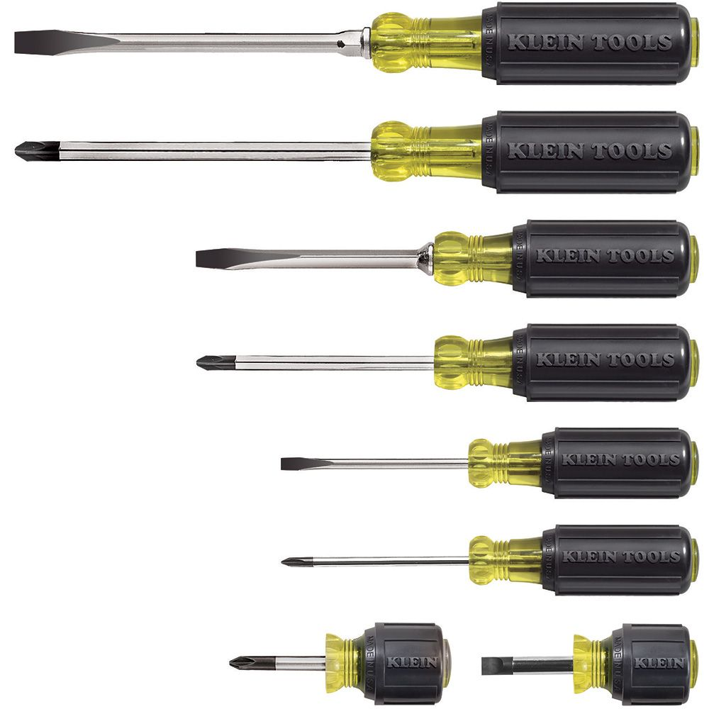 Screwdriver Set, Multi-Application, 8-Piece