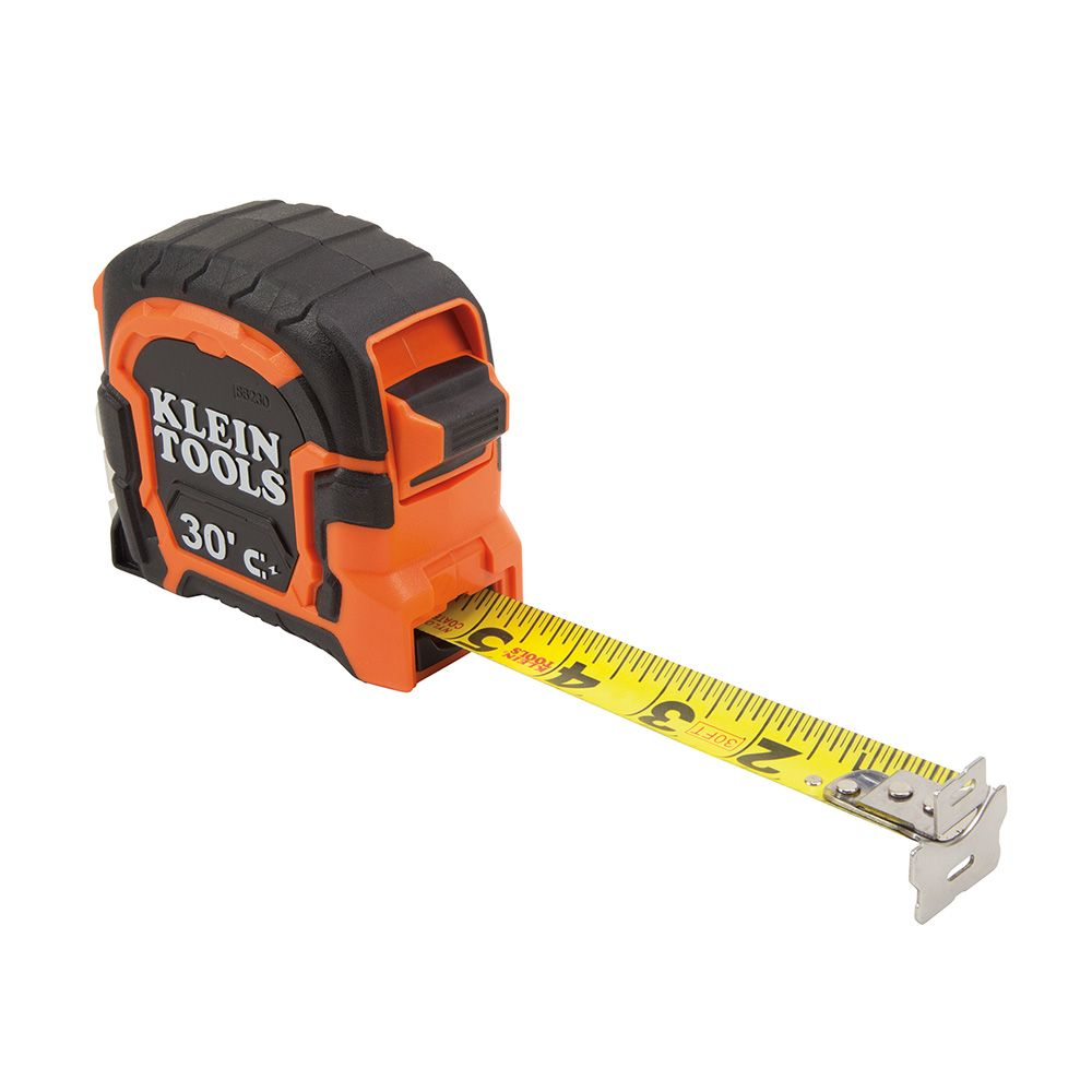 Tape Measure 30-Foot Magnetic Double-Hook