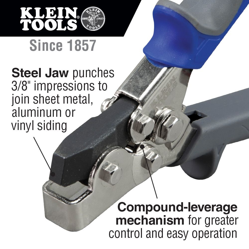 Snap Lock Punch 86528 Klein Tools For Professionals