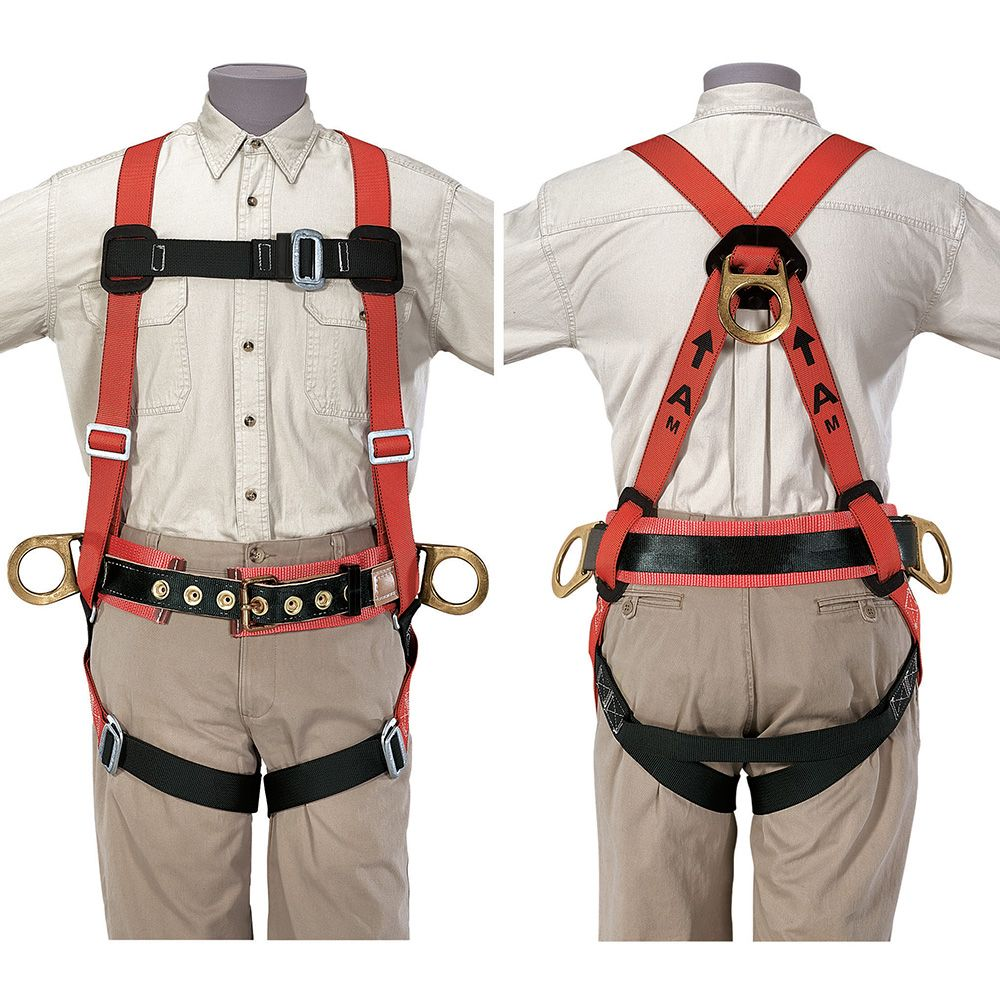 Fall-Arrest/Positioning Harness