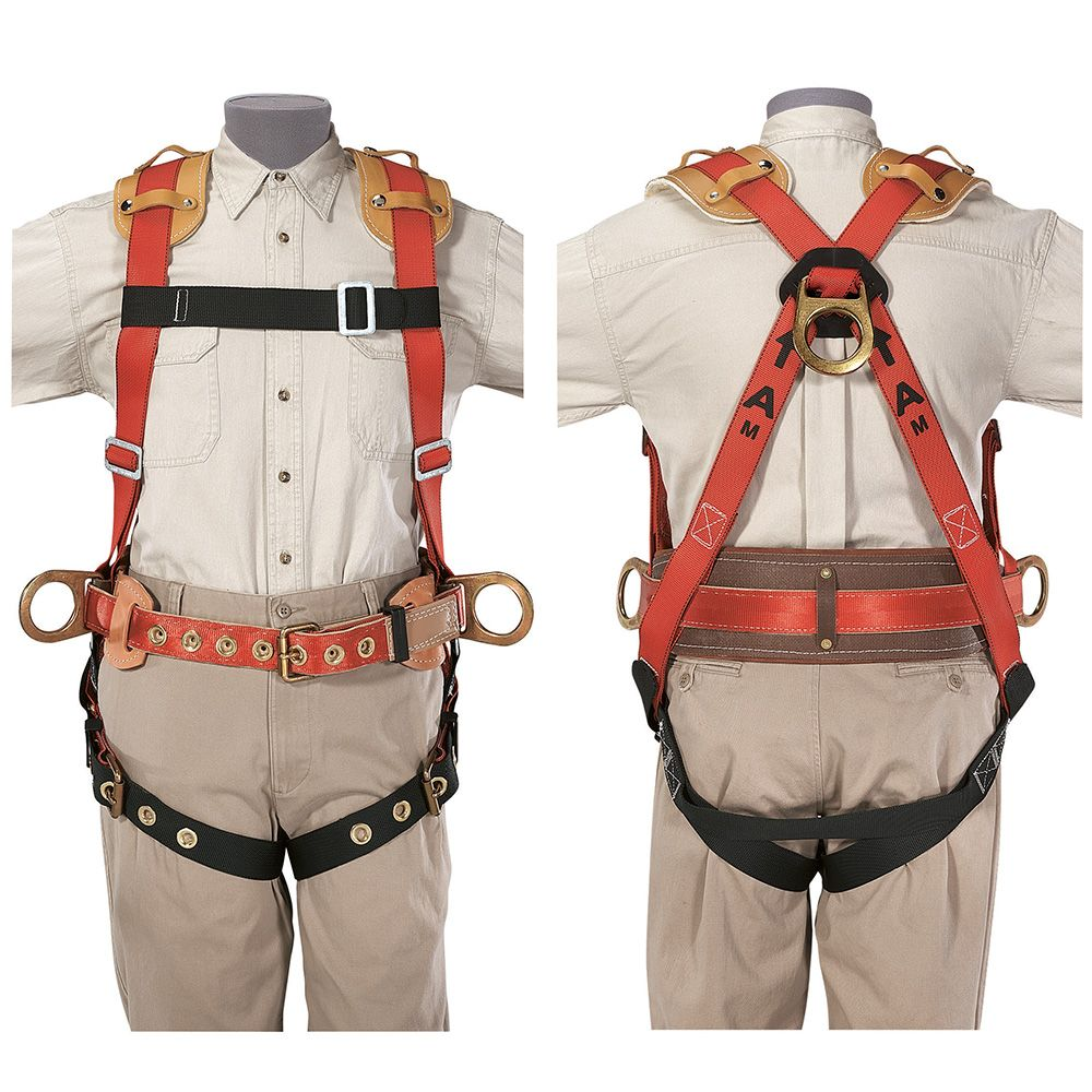 Safety Harness Iron Work Positioning, S