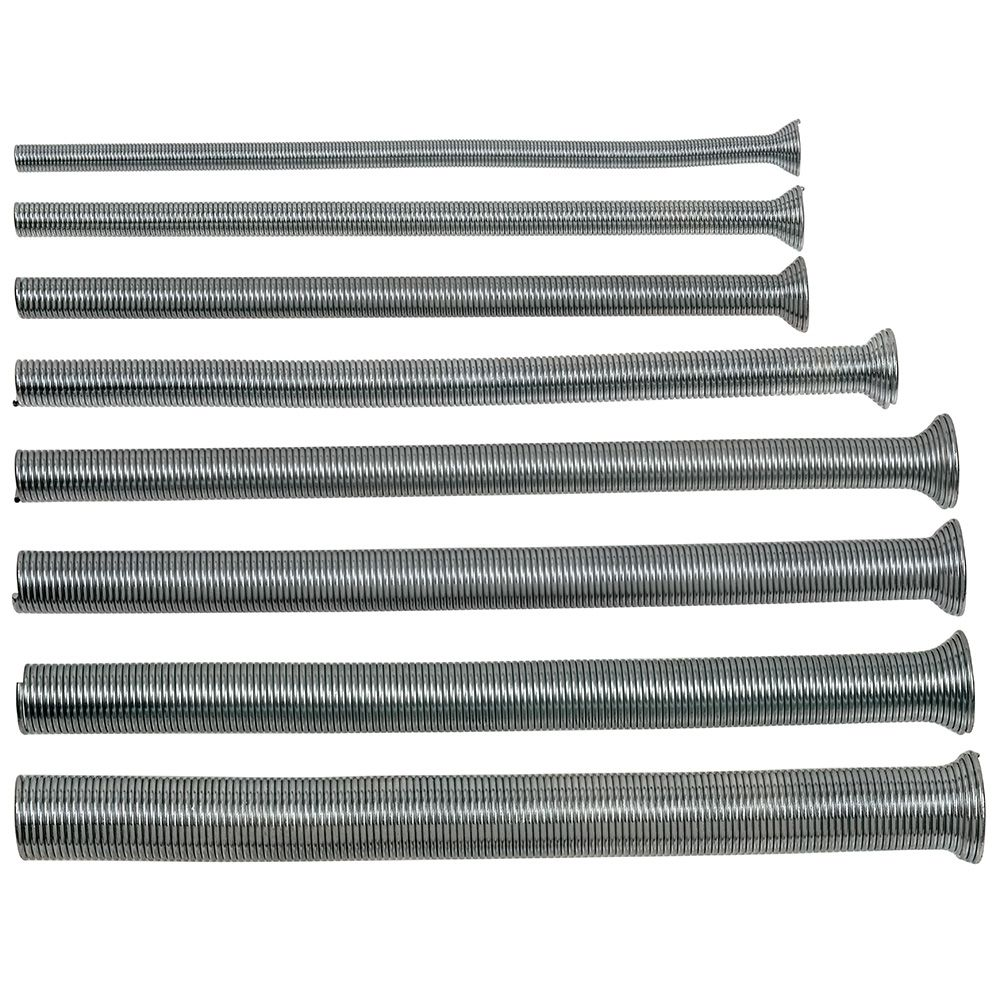 Spring Type Tube Bender Set, 8 pc.