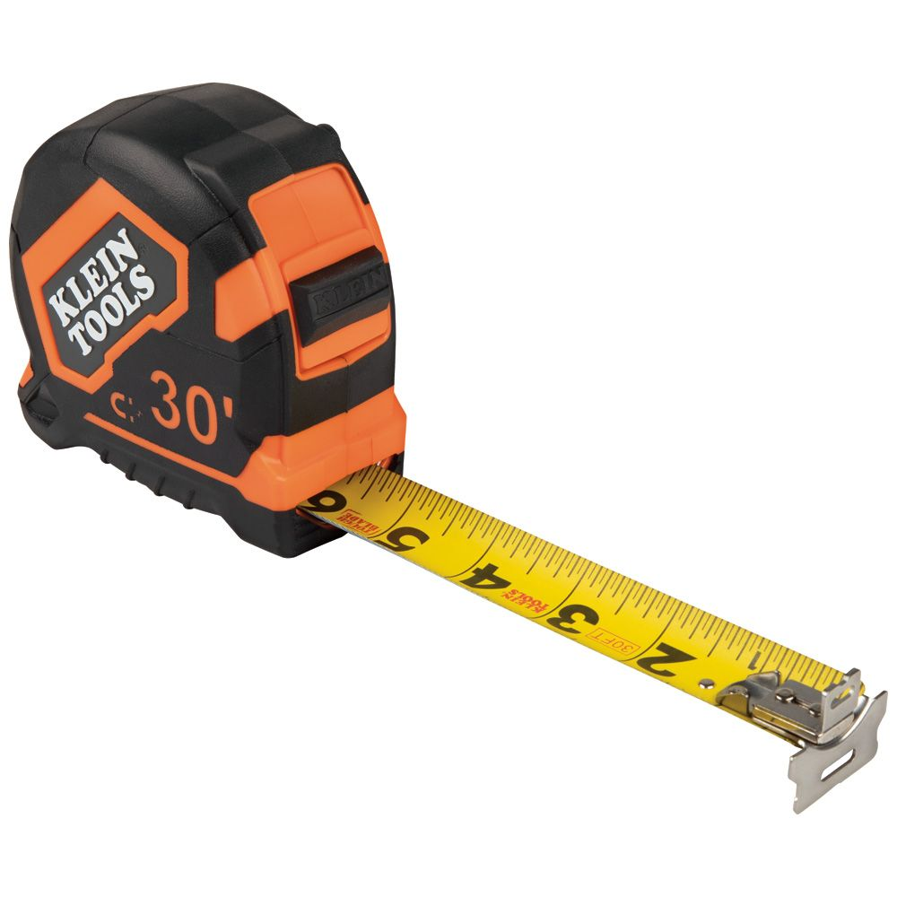 Tape Measure, 30-Foot Magnetic Double-Hook