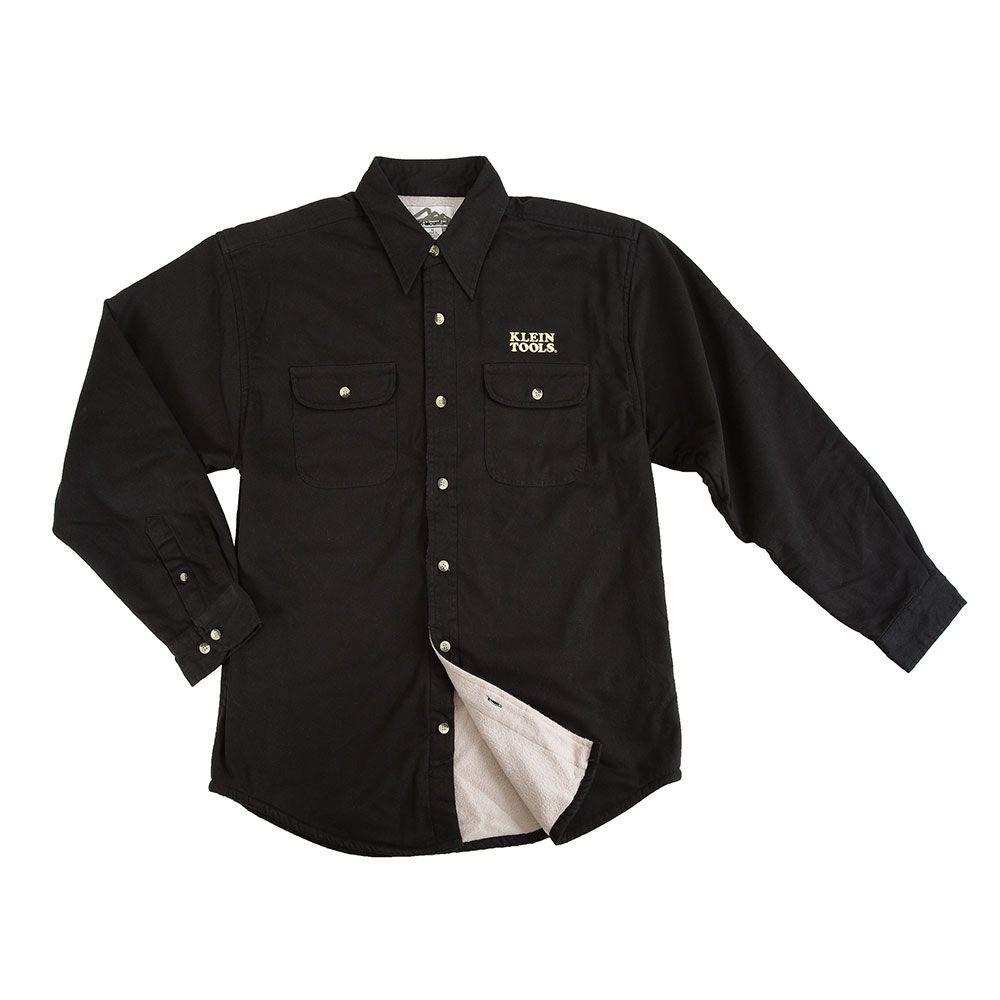 Klein Electrician's Shirt - Men's Black, Large