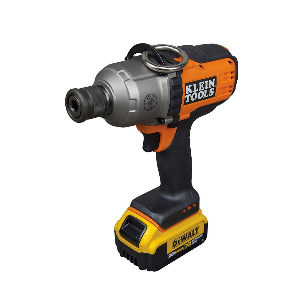 Battery Operated Impact Wrench Kit 7 16 Inch