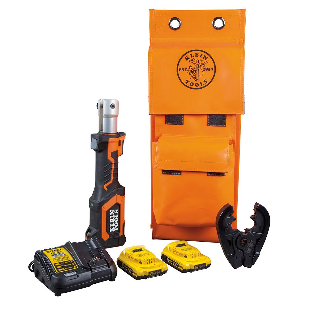 Battery-Operated Cable Crimper, BG and Die Groove