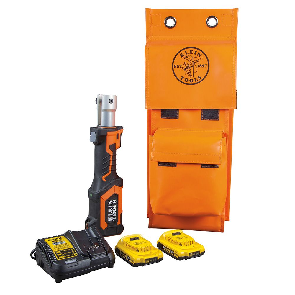 Battery-Op 7-Ton Cable Cutter/Crimper, No Heads