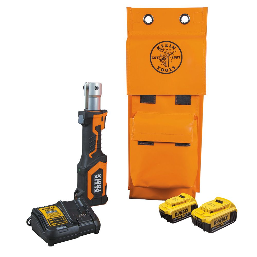 Battery-Operated Cutter/Crimper, No Heads, 4 Ah