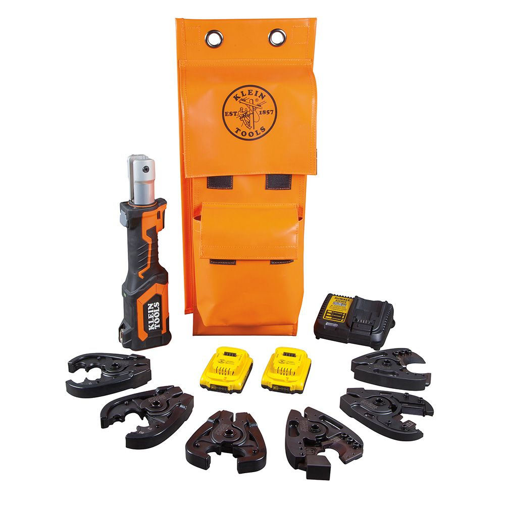 Battery-Op 7-Ton Cable Cutter and Crimper Kit